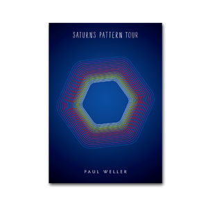 Paul Weller: Saturns Pattern 2016 Tour Programme