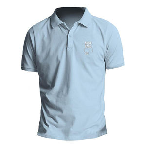 Manic Street Preachers: EMG Blue Polo Shirt