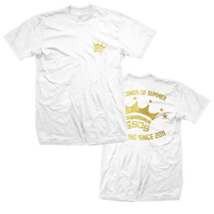 5 Seconds of Summer: Metallic Crown Derping T-Shirt