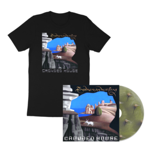 Crowded House: Dreamers Are Waiting T-shirt & Signed CD