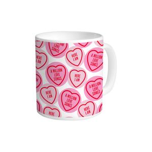 Gary Barlow: Love Hearts Mug