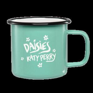 Katy Perry: Daisies Enamel Mug + Forthcoming Digital Album