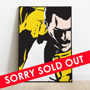 Freddie For A Day: Mercury Phoenix Trust Hand Numbered Collectors Art Print