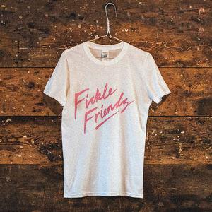 Fickle Friends: White Logo T-Shirt