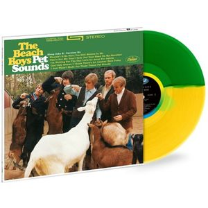The Beach Boys: Pet Sounds: Exclusive Green + Yellow Split Coloured Vinyl