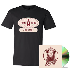 Chris Stapleton: From A Room CD & T-Shirt Bundle
