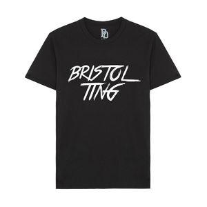 I Play Dirty: Bristol Ting Black T-shirt