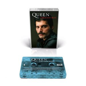 Queen: Greatest Hits Collectors Edition Freddie Cover (Frosted Aqua)