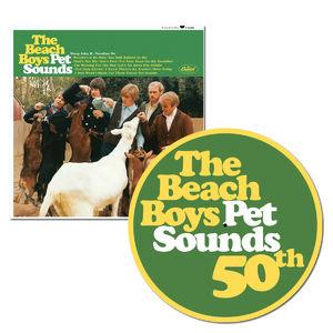 The Beach Boys: Pet Sounds: Mono Vinyl + Exclusive 50th Anniversary Slip Mat