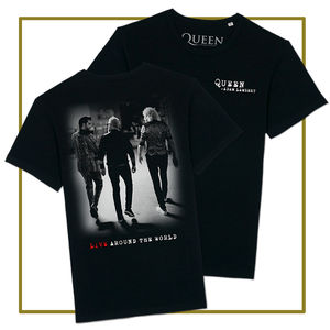 Queen & Adam Lambert: Live Around The World T-Shirt