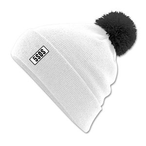 5 Seconds of Summer: 5SOS Tab White Beanie Bobble