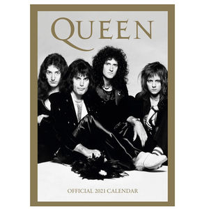 Queen: Queen 2021 A3 Calendar
