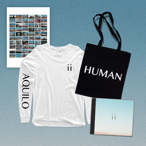 Aquilo: Signed CD + Tote + Poster + Black Longsleeve OR White Longsleeve