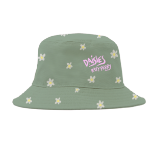 Katy Perry: Daisies Bucket Hat Green + Forthcoming Digital Album