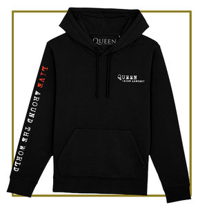 Queen & Adam Lambert: Live Around The World Hoodie