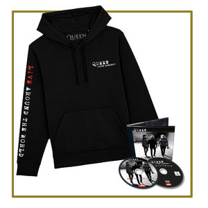 Queen & Adam Lambert: CD/DVD & Hoodie