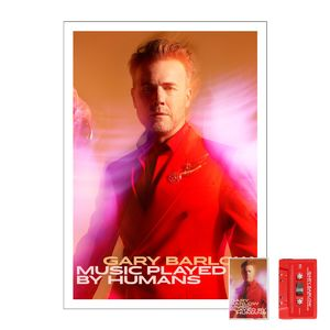 Gary Barlow: Music Played By Humans Cassette & Litho