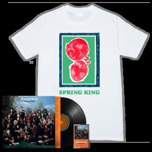 Spring King: A Better Life: Signed Vinyl, Signed Cassette & T-Shirt