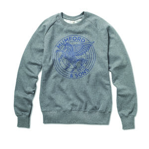 Mumford & Sons : Pegasus Raglan Sweatshirt (Dark Heather)