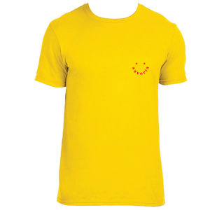 SAVERIA: Saveria Logo Tee (Yellow)