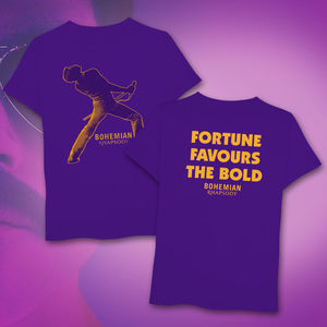 Queen: 'Fortune Favours' Purple