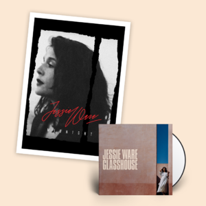 Jessie Ware: Signed Deluxe CD + Litho