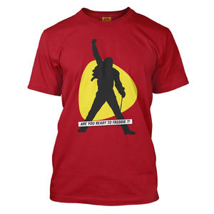 Freddie For A Day: Are You Ready To Freddie?! Camiseta roja