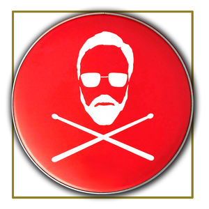 Roger Taylor: 'Jolly Roger' Replica Drum Skin