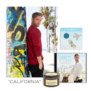 Brett Young: T I C K E T // T O // L.A. CALIFORNIA BUNDLE