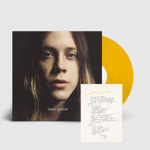 Isaac Gracie: Isaac Gracie Signed Limited Edition Yellow Vinyl & Personalised Lyric Sheet