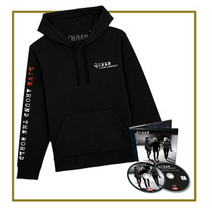 Queen & Adam Lambert: CD/Bluray & Hoodie