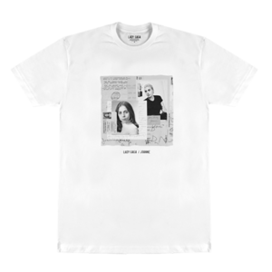 Lady Gaga: B&W Photo Collage Tee