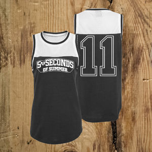 5 Seconds of Summer: Safety Pin Number Vest