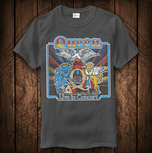 Queen: Queen Live In Concert Vintage T-Shirt