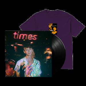 SG Lewis: Vinyl & Red Flyer Plum T-Shirt
