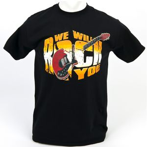 We Will Rock You: T-Shirt Guitare « We Will Rock You 2013 Tour »
