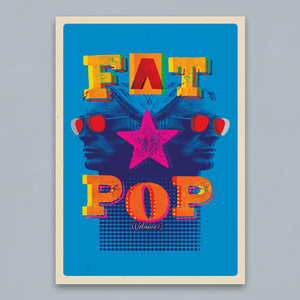 Paul Weller: Fat Pop A2 Litho