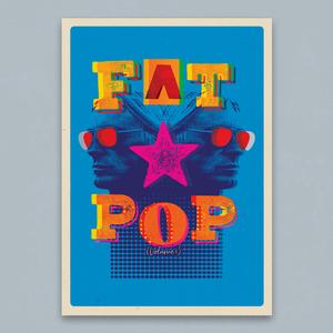 Paul Weller: Fat Pop A2 Litho