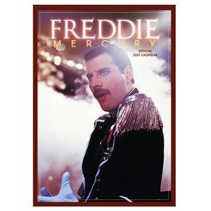 Freddie Mercury: Freddie Mercury 2021 A3 Calendar