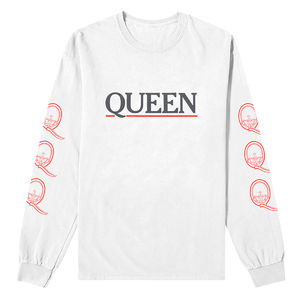 Queen: Logo Longsleeve T-Shirt