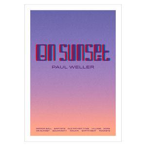 Paul Weller: Album Lithograph