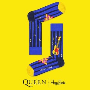 Queen: Another One Bites The Dust Happy Socks