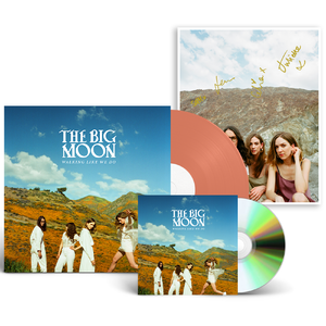 The Big Moon: CD + Limited Edition Orange Vinyl + Signed Art Card