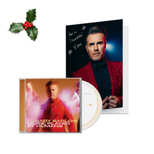 Gary Barlow: Signed Christmas Card & CD Bundle