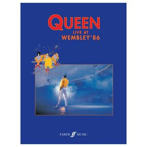 Queen: Live At Wembley '86 (Piano/Vocal/Guitar)