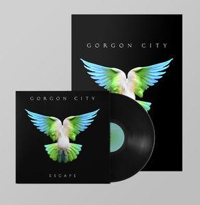 Gorgon  City: ESCAPE SIGNED LP + PRINT BUNDLE