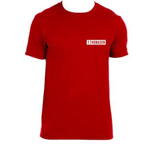 T. Thomason: T. Thomason Logo Tee (Red)