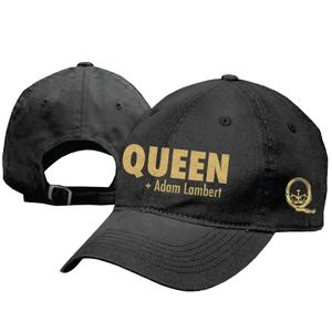Queen + Adam Lambert: Queen + Adam Lambert Gold Logo Cap