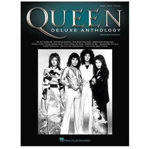 Queen: Queen Deluxe Anthology (Piano/Vocal/Guitar) Sheet Music Book