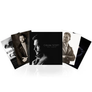 Calum Scott: CD & 4 x Photo Prints & a personally handwritten note